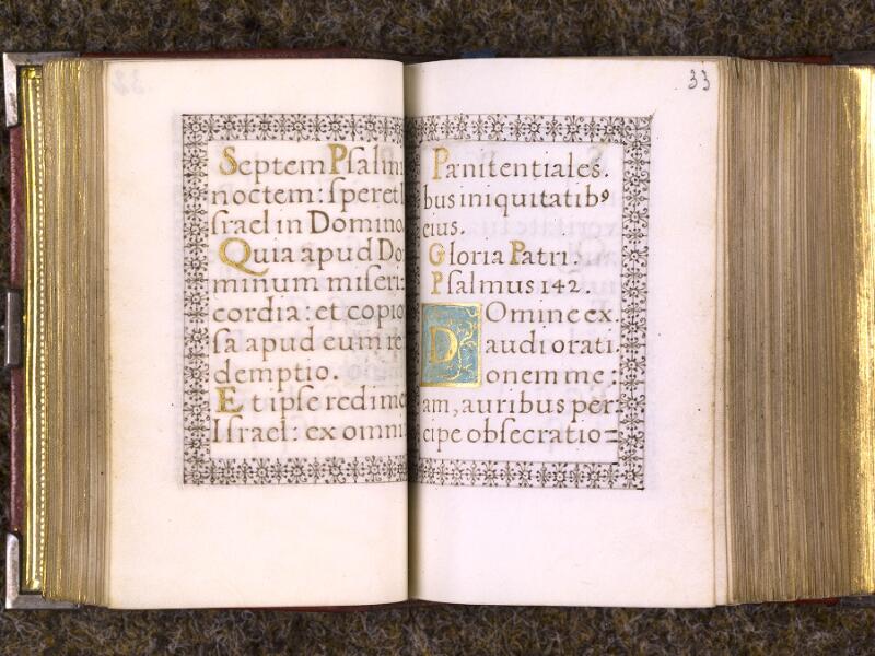 CHANTILLY, Bibliothèque du château, 0103 (1372), f. 032v - 033