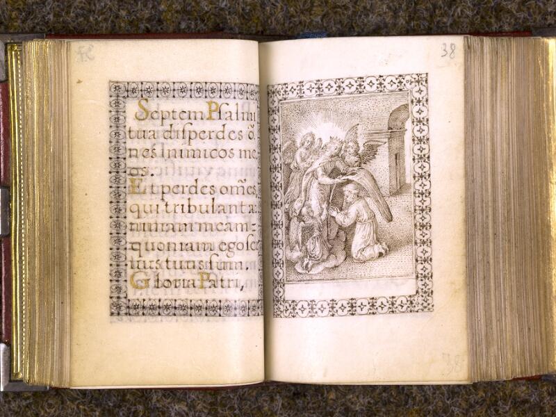 CHANTILLY, Bibliothèque du château, 0103 (1372), f. 037v - 038
