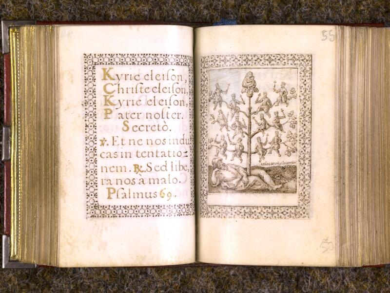 CHANTILLY, Bibliothèque du château, 0103 (1372), f. 054v - 055