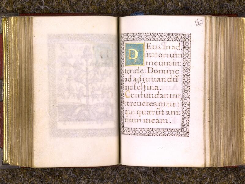 CHANTILLY, Bibliothèque du château, 0103 (1372), f. 055v - 056