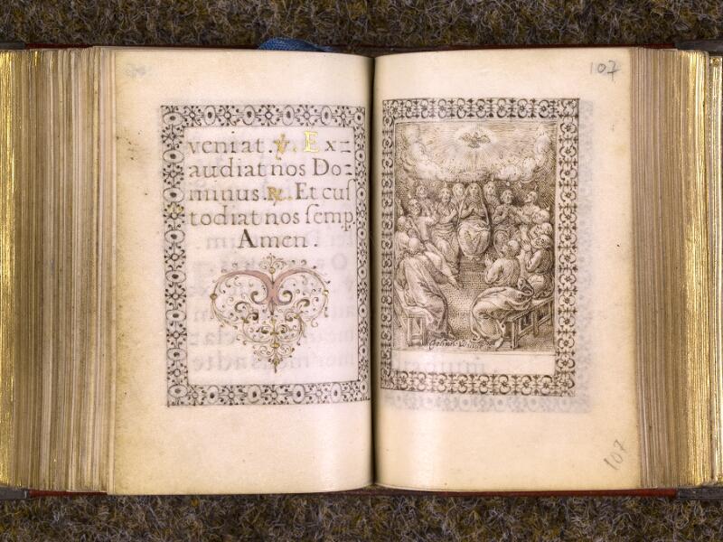 CHANTILLY, Bibliothèque du château, 0103 (1372), f. 106v - 107