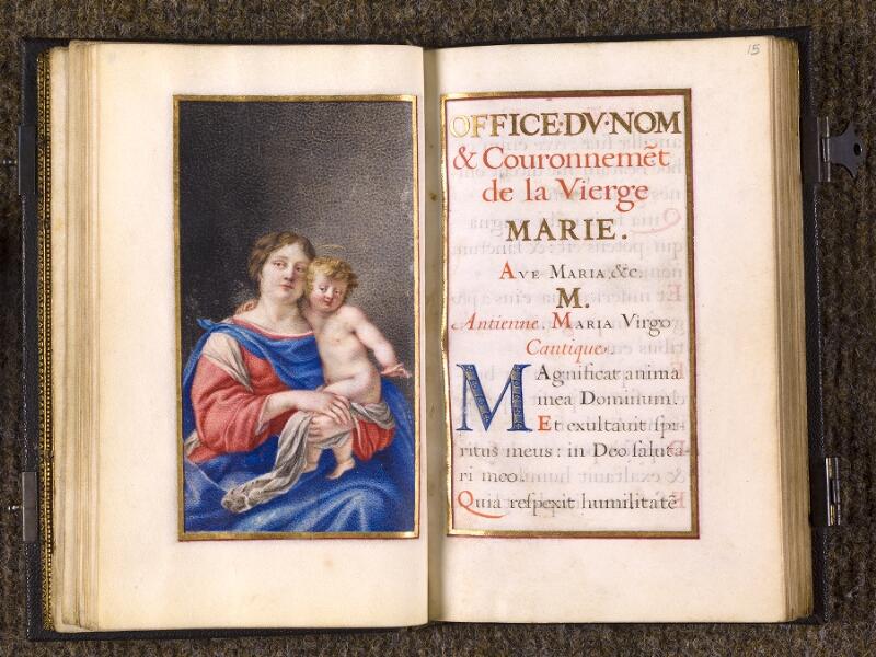CHANTILLY, Bibliothèque du château, 0105 (1402), f. 014v - 015