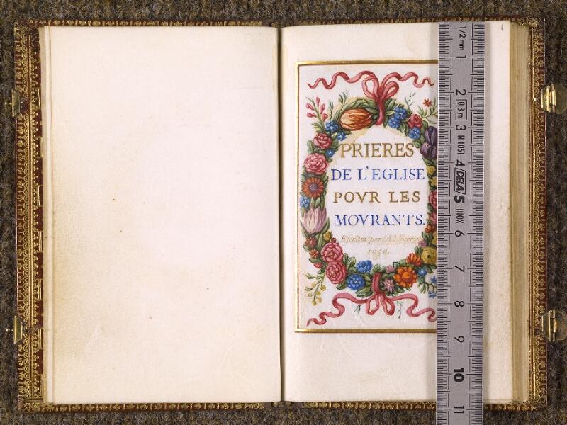 CHANTILLY, Bibliothèque du château, 0107 (1369), f. 000Bv - 001 avec réglet
