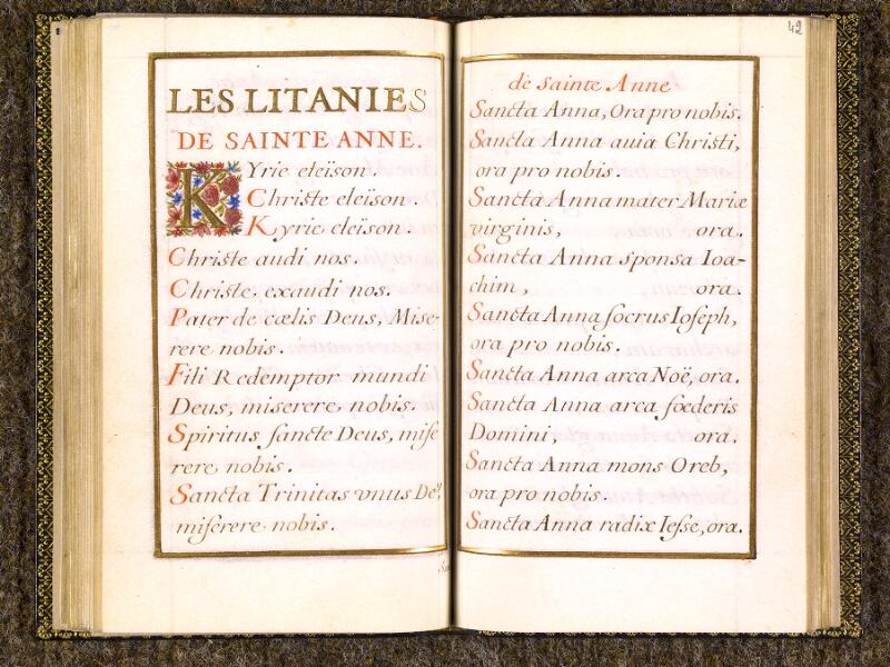 CHANTILLY, Bibliothèque du château, 0109 (1368), f. 041v - 042