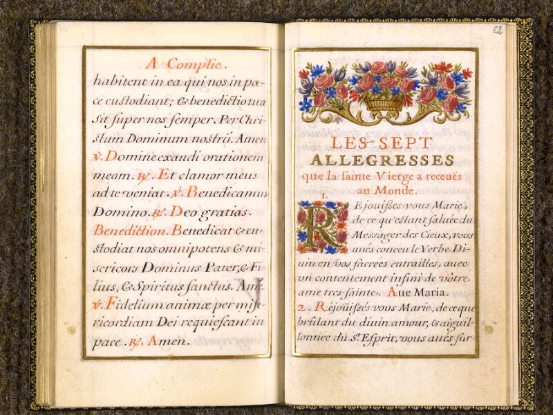 CHANTILLY, Bibliothèque du château, 0109 (1368), f. 061v - 062