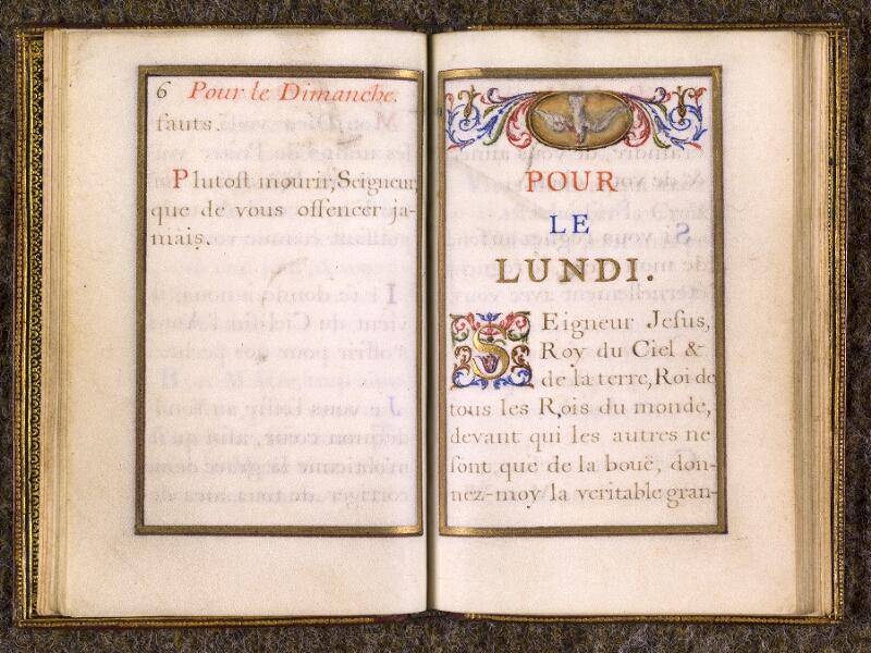CHANTILLY, Bibliothèque du château, 0110 (1393), p. 006 - 007