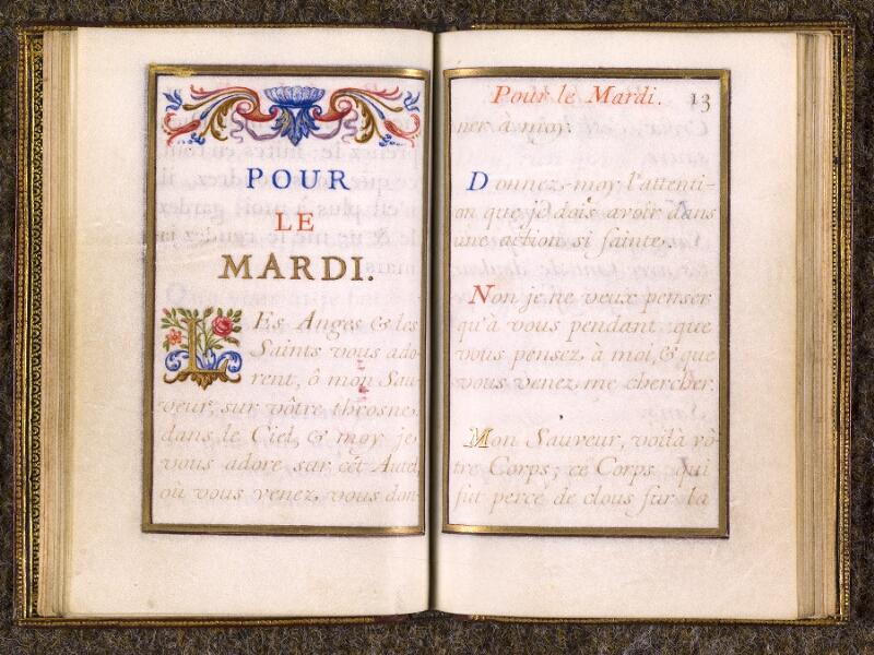 CHANTILLY, Bibliothèque du château, 0110 (1393), p. 012 - 013