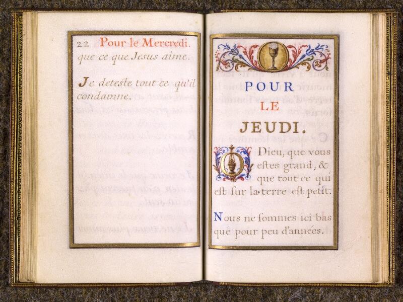 CHANTILLY, Bibliothèque du château, 0110 (1393), p. 022 - 023