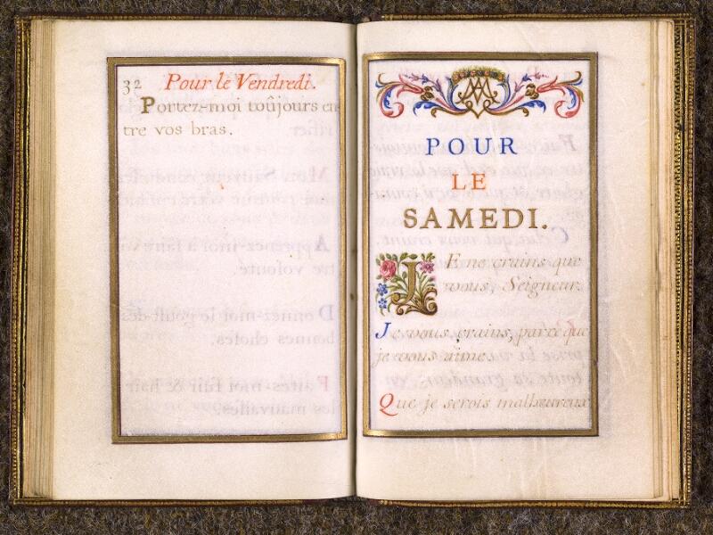 CHANTILLY, Bibliothèque du château, 0110 (1393), p. 032 - 033