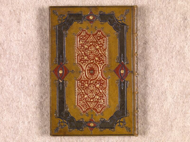 CHANTILLY, Bibliothèque du château, 0111 (1395), plat supérieur