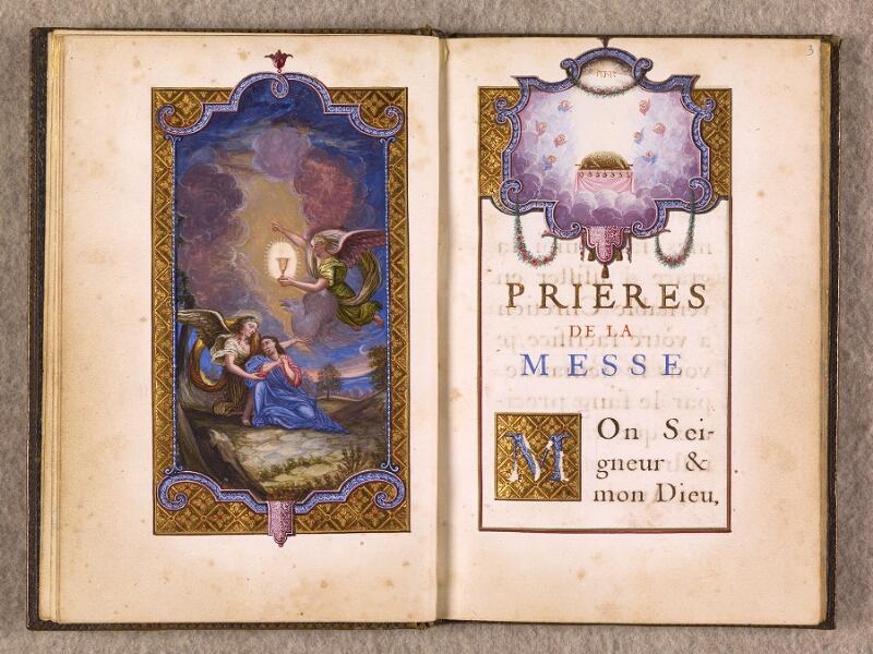 CHANTILLY, Bibliothèque du château, 0111 (1395), f. 002v - 003