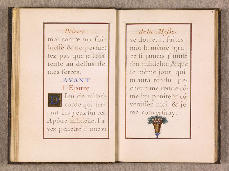 CHANTILLY, Bibliothèque du château, 0111 (1395), f. 007v - 008