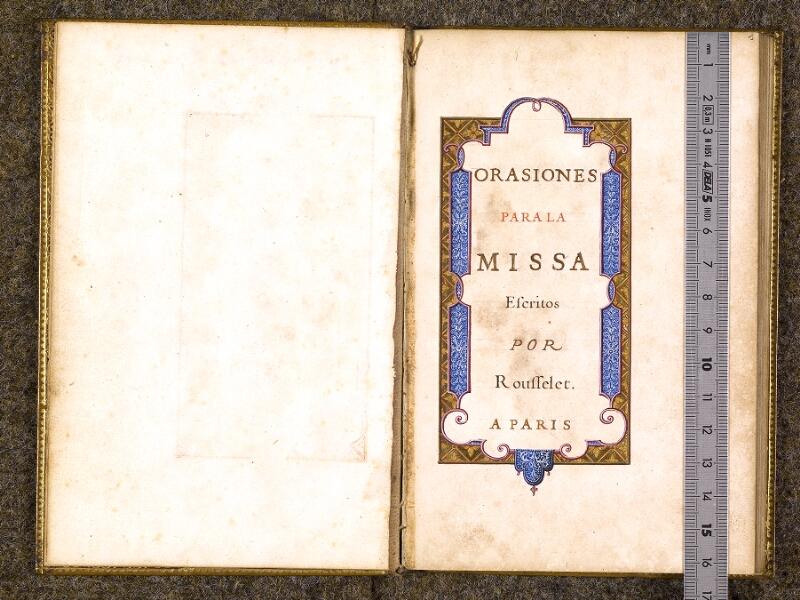 CHANTILLY, Bibliothèque du château, 0112 (0070), f. 000Bv - 001 avec réglet