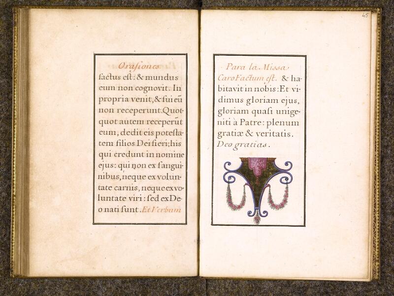 CHANTILLY, Bibliothèque du château, 0112 (0070), f. 044v - 045