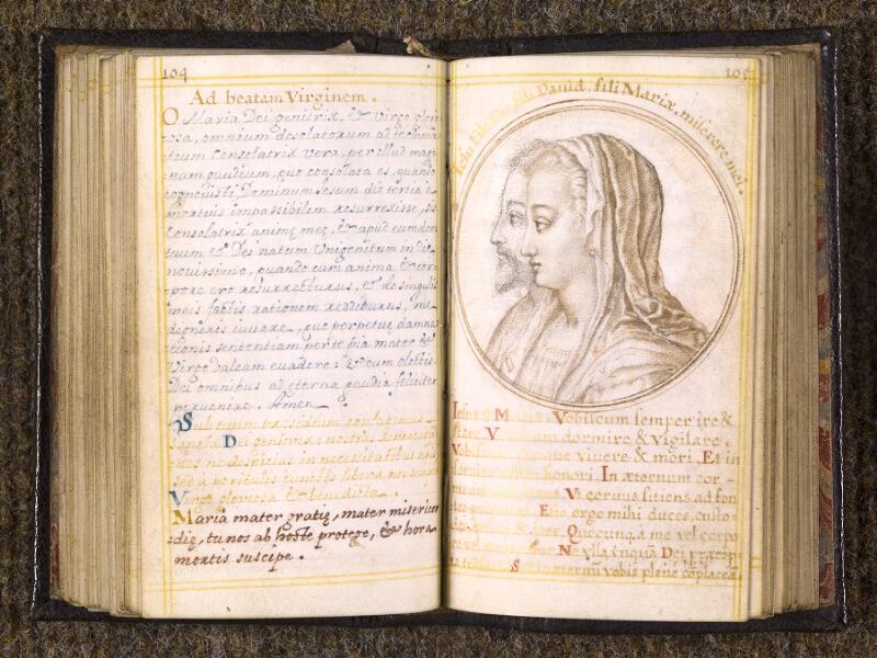 CHANTILLY, Bibliothèque du château, 0113 (1439), p. 104 - 105