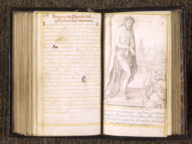 CHANTILLY, Bibliothèque du château, 0113 (1439), p. 128 - 129