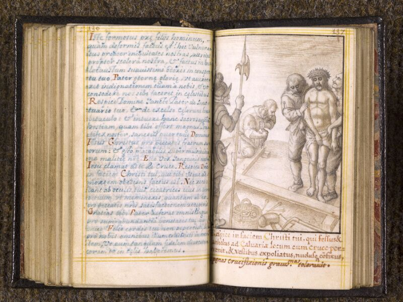 CHANTILLY, Bibliothèque du château, 0113 (1439), p. 136 - 137