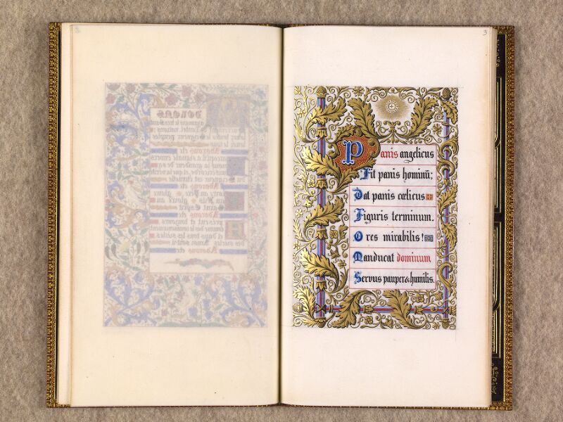 CHANTILLY, Bibliothèque du château, 0116 (1396), f. 002v - 003