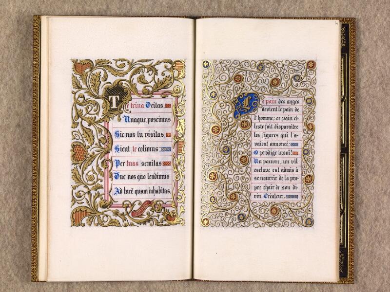 CHANTILLY, Bibliothèque du château, 0116 (1396), f. 003v - 004