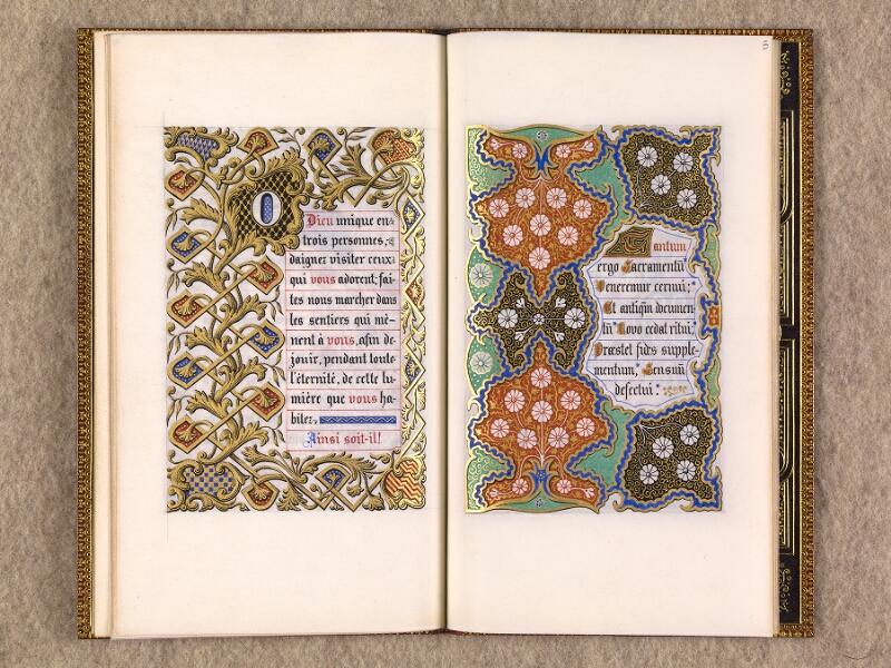 CHANTILLY, Bibliothèque du château, 0116 (1396), f. 004v - 005