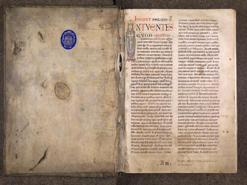 CHANTILLY, Bibliothèque du château, 0121 (0607), contreplat supérieur - f. 001