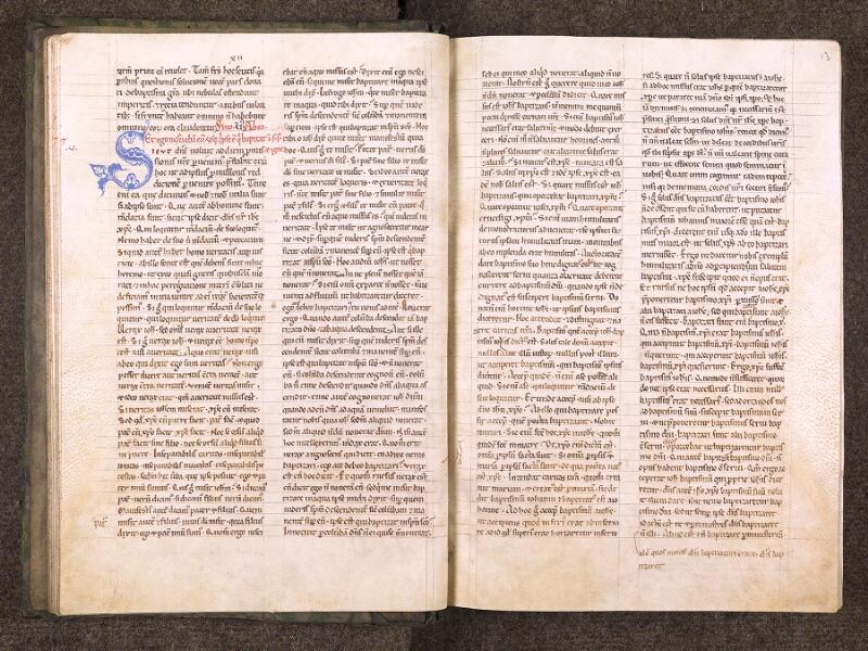 CHANTILLY, Bibliothèque du château, 0121 (0607), f. 012v - 013