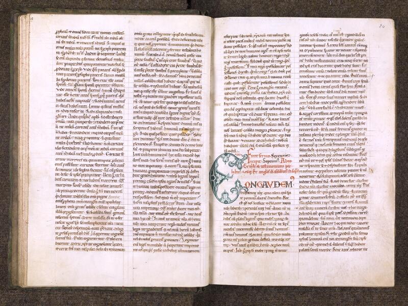 CHANTILLY, Bibliothèque du château, 0121 (0607), f. 019v - 020