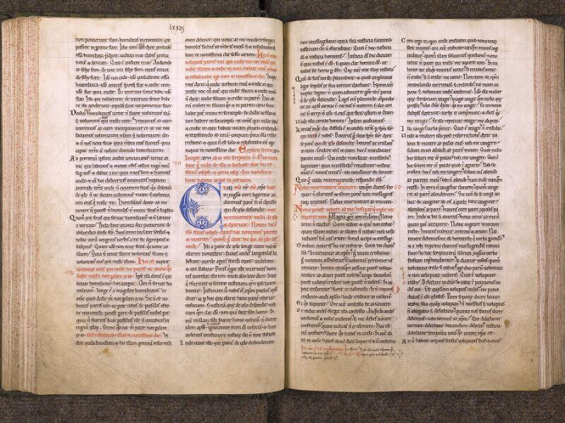 CHANTILLY, Bibliothèque du château, 0121 (0607), f. 076v - 077