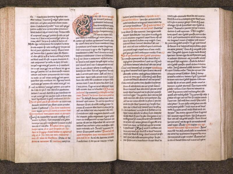 CHANTILLY, Bibliothèque du château, 0121 (0607), f. 079v - 080