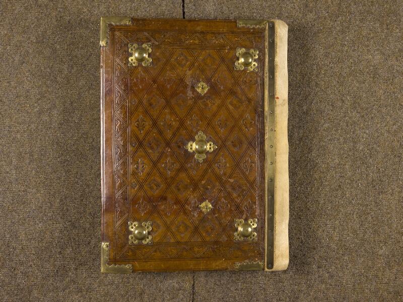 CHANTILLY, Bibliothèque du château, 0139 (1363), plat inférieur