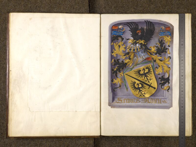CHANTILLY, Bibliothèque du château, 0139 (1363), f. 000Fv  - 001 avec réglet