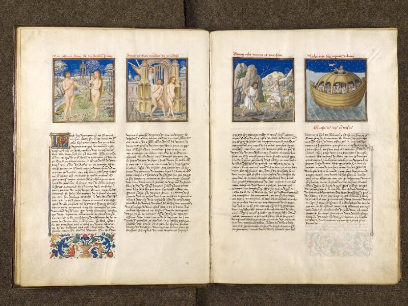 CHANTILLY, Bibliothèque du château, 0139 (1363), f. 003v - 004