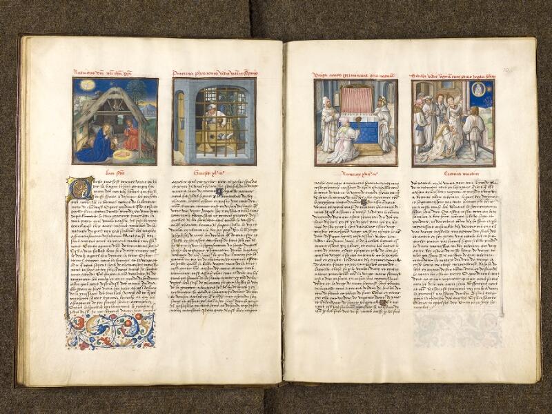 CHANTILLY, Bibliothèque du château, 0139 (1363), f. 009v - 010