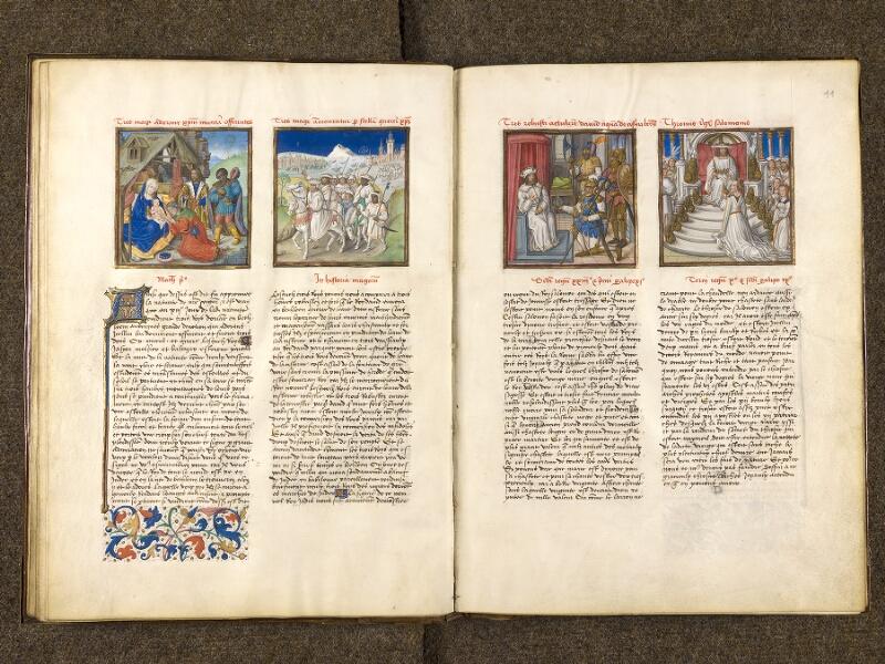 CHANTILLY, Bibliothèque du château, 0139 (1363), f. 010v - 011