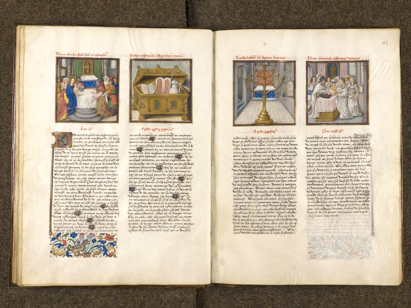 CHANTILLY, Bibliothèque du château, 0139 (1363), f. 011v - 012