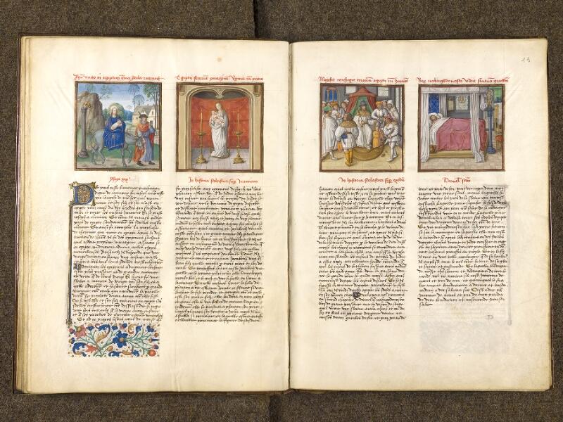 CHANTILLY, Bibliothèque du château, 0139 (1363), f. 012v - 013