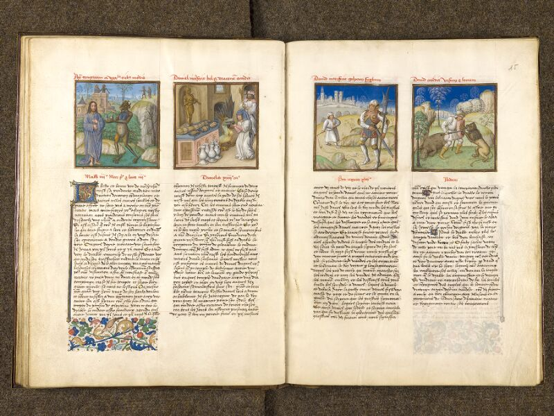 CHANTILLY, Bibliothèque du château, 0139 (1363), f. 014v - 015