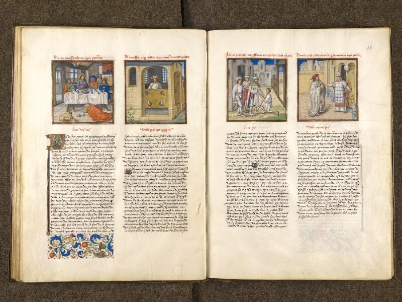 CHANTILLY, Bibliothèque du château, 0139 (1363), f. 015v - 016