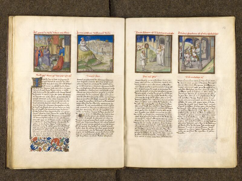 CHANTILLY, Bibliothèque du château, 0139 (1363), f. 016v - 017