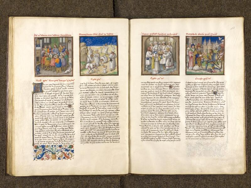 CHANTILLY, Bibliothèque du château, 0139 (1363), f. 017v - 018