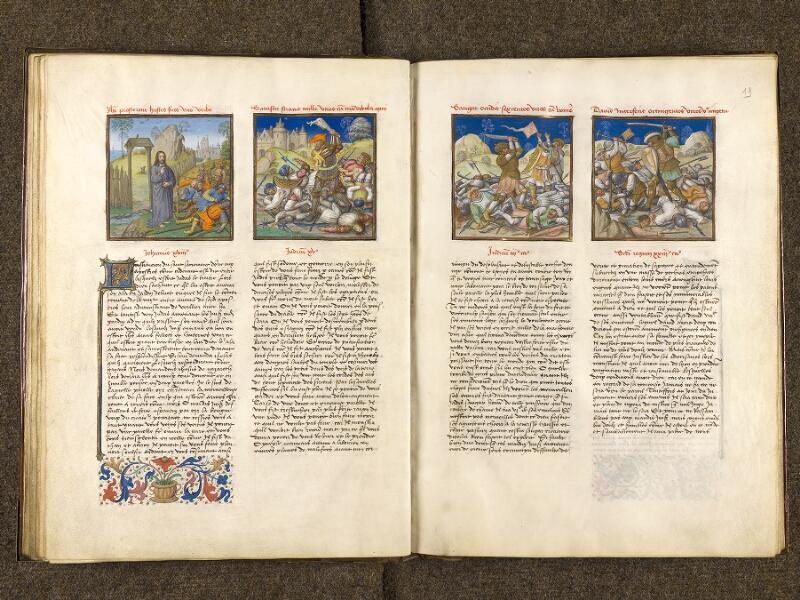 CHANTILLY, Bibliothèque du château, 0139 (1363), f. 018v - 019