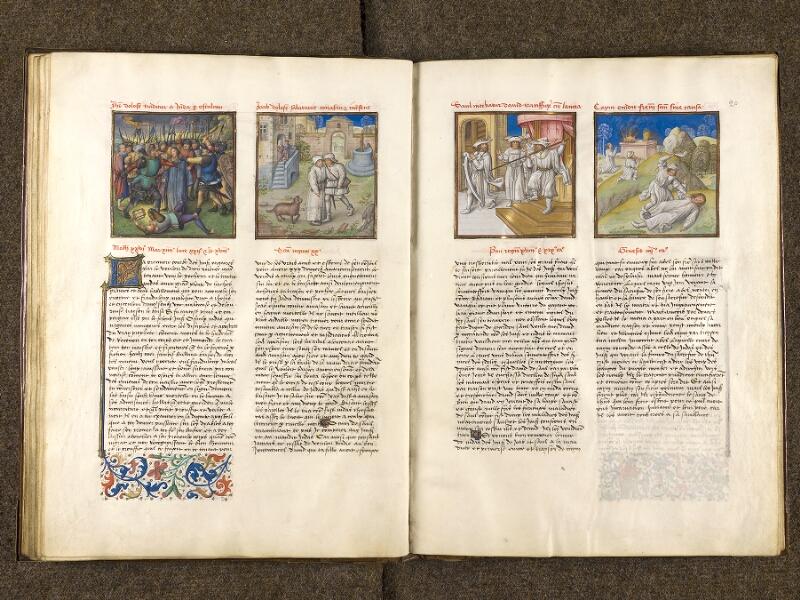 CHANTILLY, Bibliothèque du château, 0139 (1363), f. 019v - 020