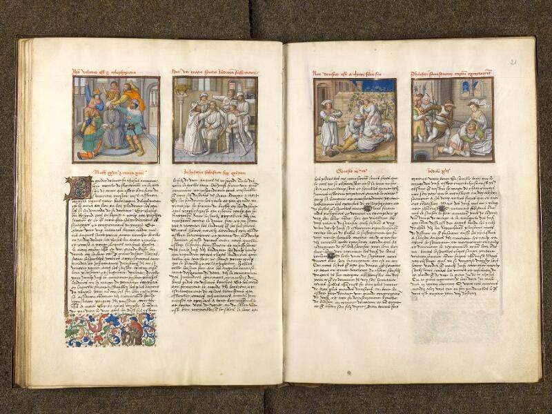 CHANTILLY, Bibliothèque du château, 0139 (1363), f. 020v - 021