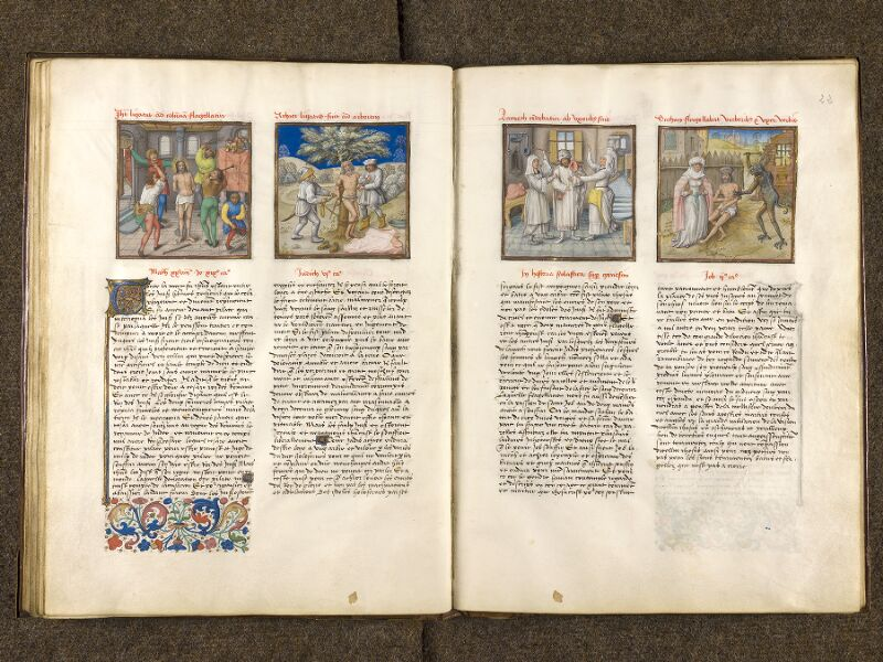 CHANTILLY, Bibliothèque du château, 0139 (1363), f. 021v - 022