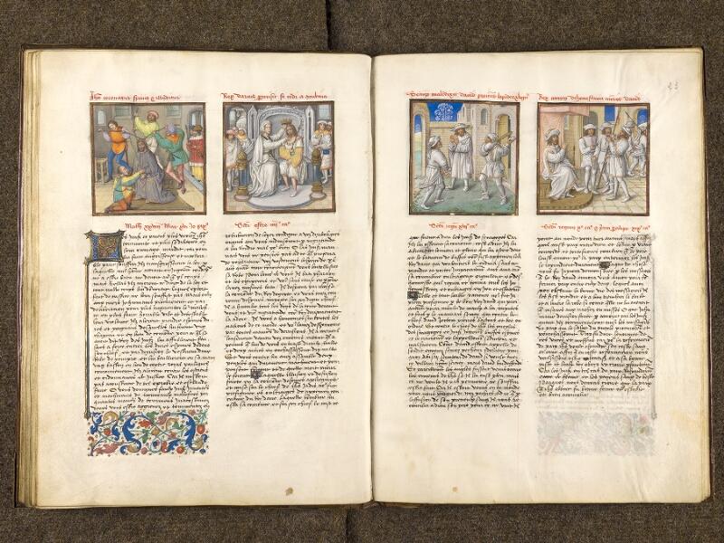 CHANTILLY, Bibliothèque du château, 0139 (1363), f. 022v - 023