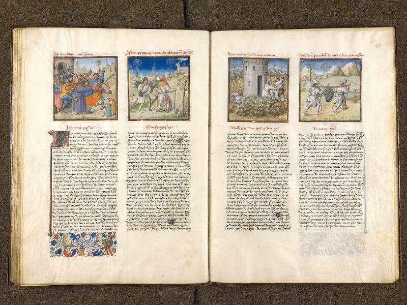 CHANTILLY, Bibliothèque du château, 0139 (1363), f. 023v - 024