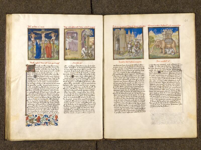 CHANTILLY, Bibliothèque du château, 0139 (1363), f. 025v - 026