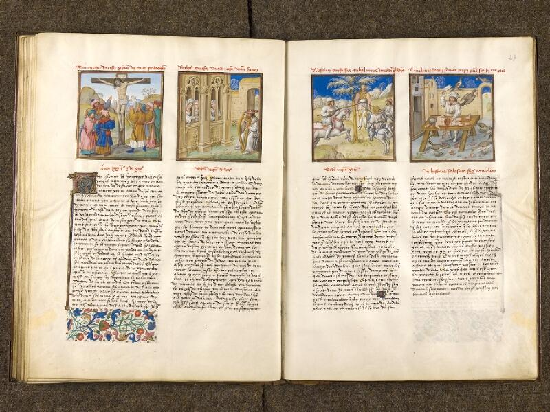 CHANTILLY, Bibliothèque du château, 0139 (1363), f. 026v - 027
