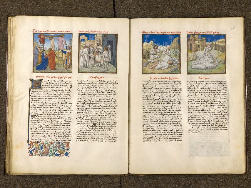 CHANTILLY, Bibliothèque du château, 0139 (1363), f. 027v - 028