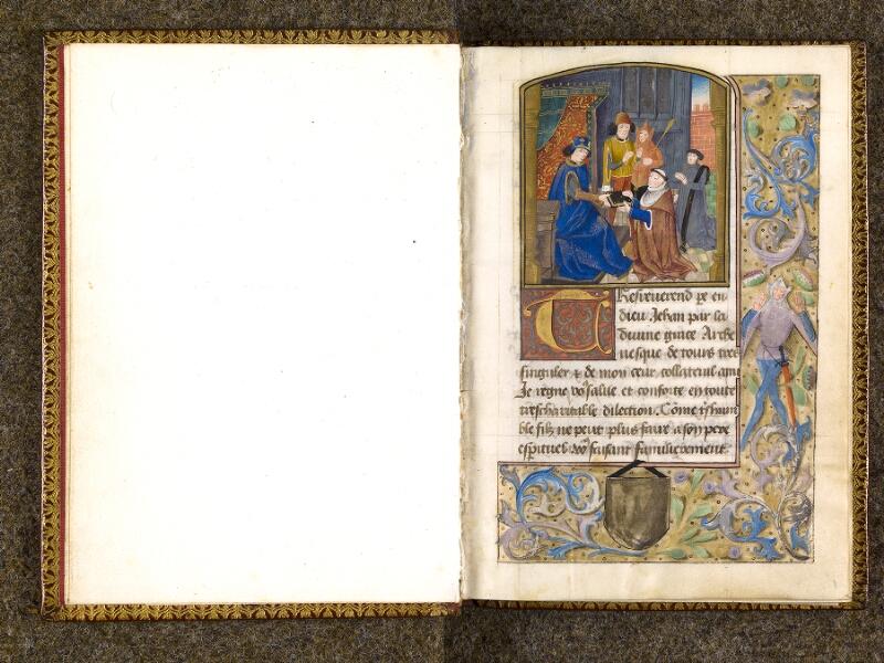 CHANTILLY, Bibliothèque du château, 0151 (1477), f. 000Bv - 001
